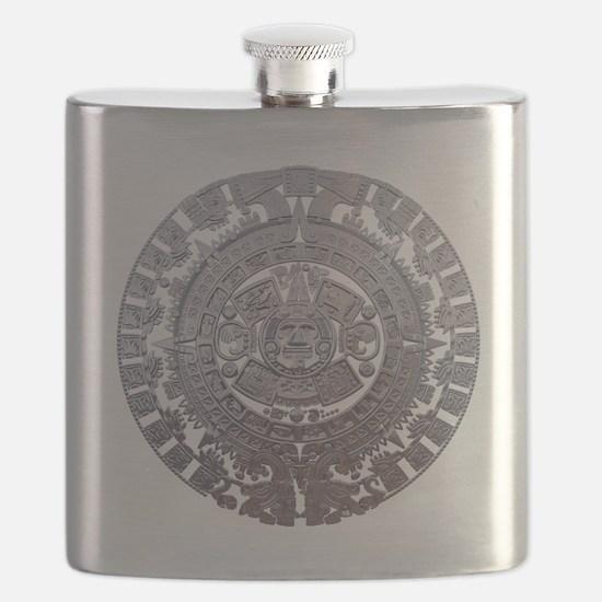 Modern Mayan Calender Flask