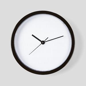 do-squats-w Wall Clock