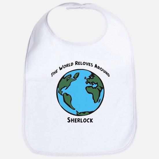 Revolves around Sherlock Bib