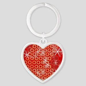 template_sac_epaule_design_rouge_ca Heart Keychain