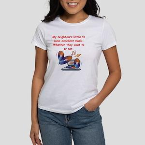 music lover Women's T-Shirt