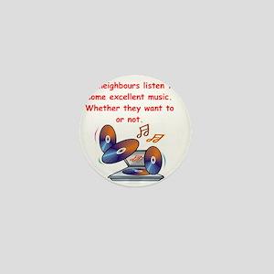 music lover Mini Button