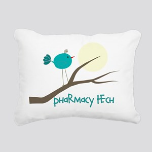 pharmacy tech bird Rectangular Canvas Pillow