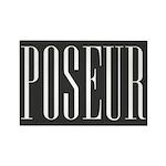 Poseur Rectangle Magnet (10 pack)