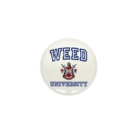 WEED University Mini Button