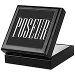 Poseur Keepsake Box