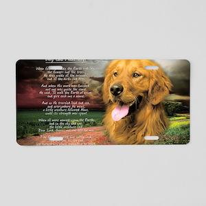 godmadedogs(carmag) Aluminum License Plate