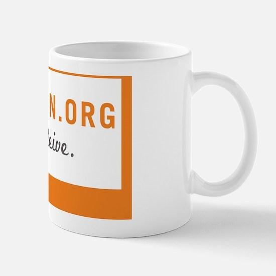 Mormon-Sticker Mug