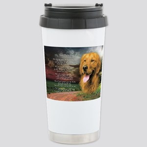 godmadedogs(license) Stainless Steel Travel Mug