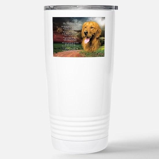 godmadedogs(license) Stainless Steel Travel Mug