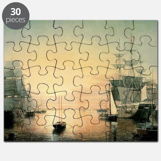 Vintage Poster 9 Cafe Press Puzzle