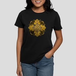 Gold Parquet Women's Dark T-Shirt