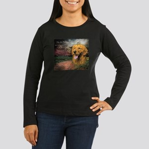 godmadedogs Women's Long Sleeve Dark T-Shirt