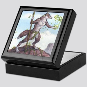 Earth Wolf TEE Keepsake Box