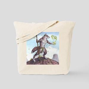 Earth Wolf TEE Tote Bag