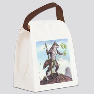Earth Wolf TEE Canvas Lunch Bag