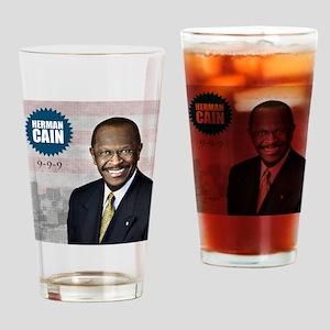 sept_herman_cain Drinking Glass