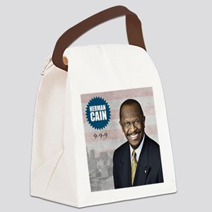 sept_herman_cain Canvas Lunch Bag
