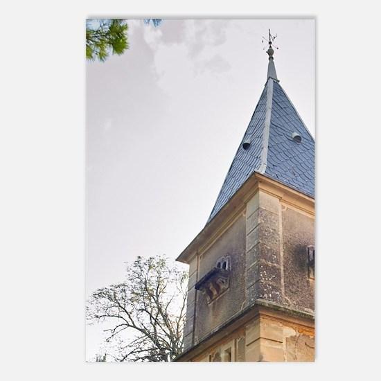 Gignac village. Terrasses Postcards (Package of 8)