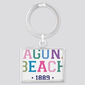 Laguna Beach 1889 B Landscape Keychain
