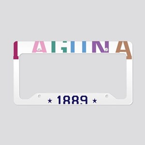 Laguna Beach 1889 B License Plate Holder