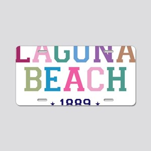 Laguna Beach 1889 B Aluminum License Plate