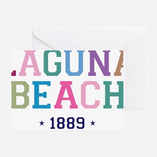 Laguna Beach 1889 B Greeting Card