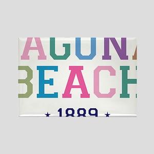 Laguna Beach 1889 B Rectangle Magnet