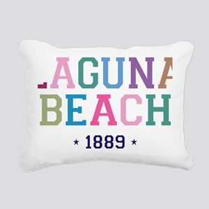 Laguna Beach 1889 B Rectangular Canvas Pillow