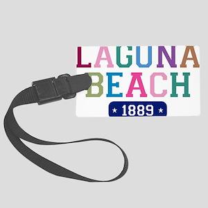 Laguna Beach 1889 W Large Luggage Tag
