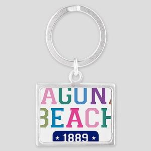 Laguna Beach 1889 W Landscape Keychain
