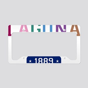 Laguna Beach 1889 W License Plate Holder