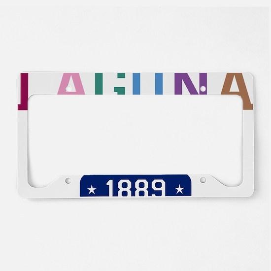Laguna Beach 1889 W License Plate Holder