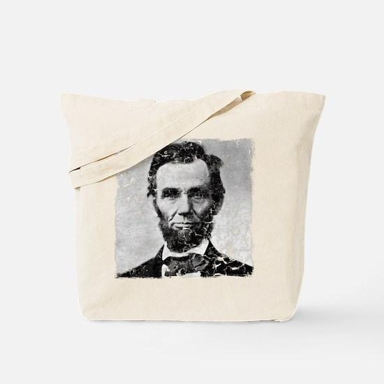 abe distressed Tote Bag