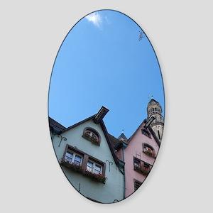 Cologne (aka Koln). Typical histori Sticker (Oval)
