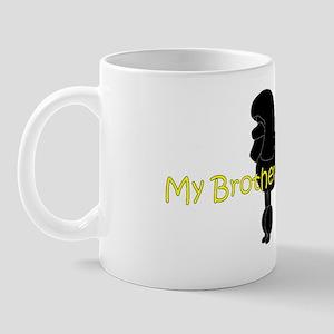 PoodleSilhouetteBrother Mug