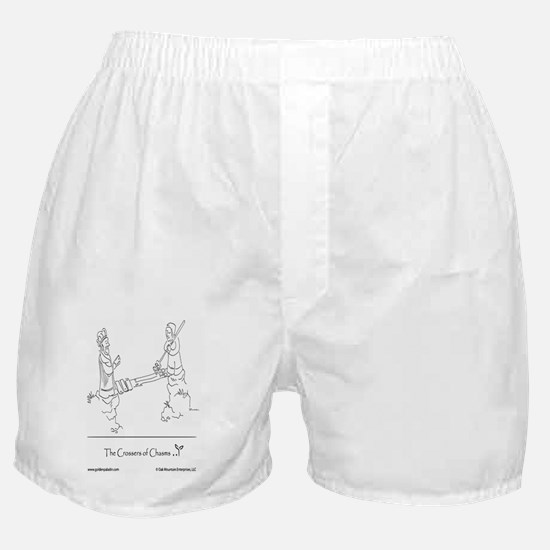The Crossers of Chasms Boxer Shorts