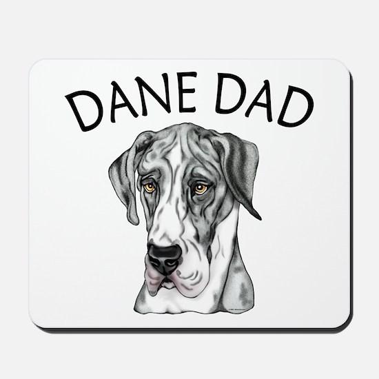 Great Dane Dad MerleB UC Mousepad