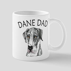 Great Dane Dad MerleB UC Mug