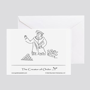 The Creator of Order Greeting Card
