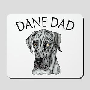 Great Dane Dad Merle UC Mousepad