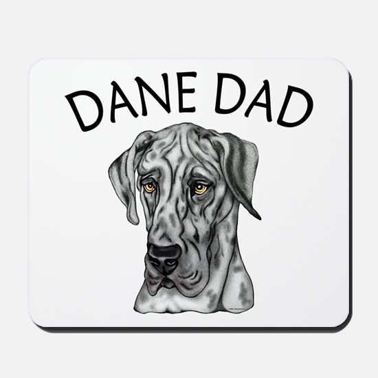 Great Dane Dad Merle UC Mousepad