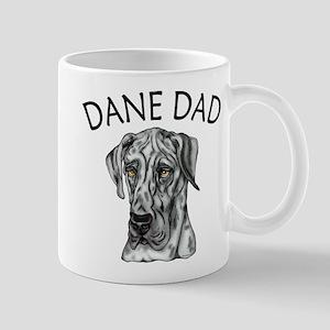 Great Dane Dad Merle UC Mug