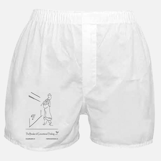 The Breaker of Conventional Thinking Boxer Shorts