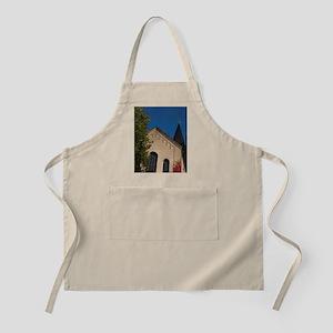 Historic 12th century Romanesque landmark ch Apron