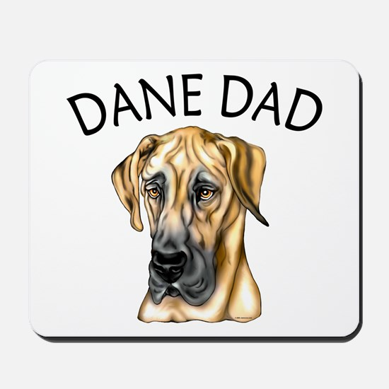 Great Dane Dad Fawn UC Mousepad