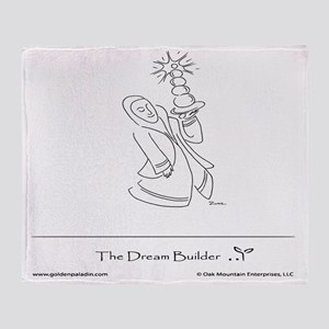 The Dream Builder Throw Blanket