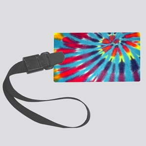 Blue Funk Bags Large Luggage Tag