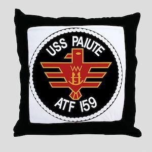 US NAVY SHIPS THE USS PAIUTE ATF-159  Throw Pillow