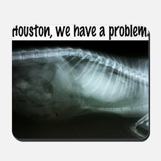 Houston We have a problem Mousepad